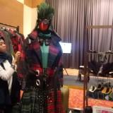 Salah satu produk fashion dari Malang yang dipamerkan dalam event Bekraf. (Foto: Nurlayla Ratri/MalangTIMES)