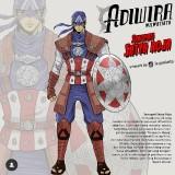 Saat 9 Avengers Hidup di Era Kerajaan Majapahit, Warganet Bingung Pilih Karakter Favorit