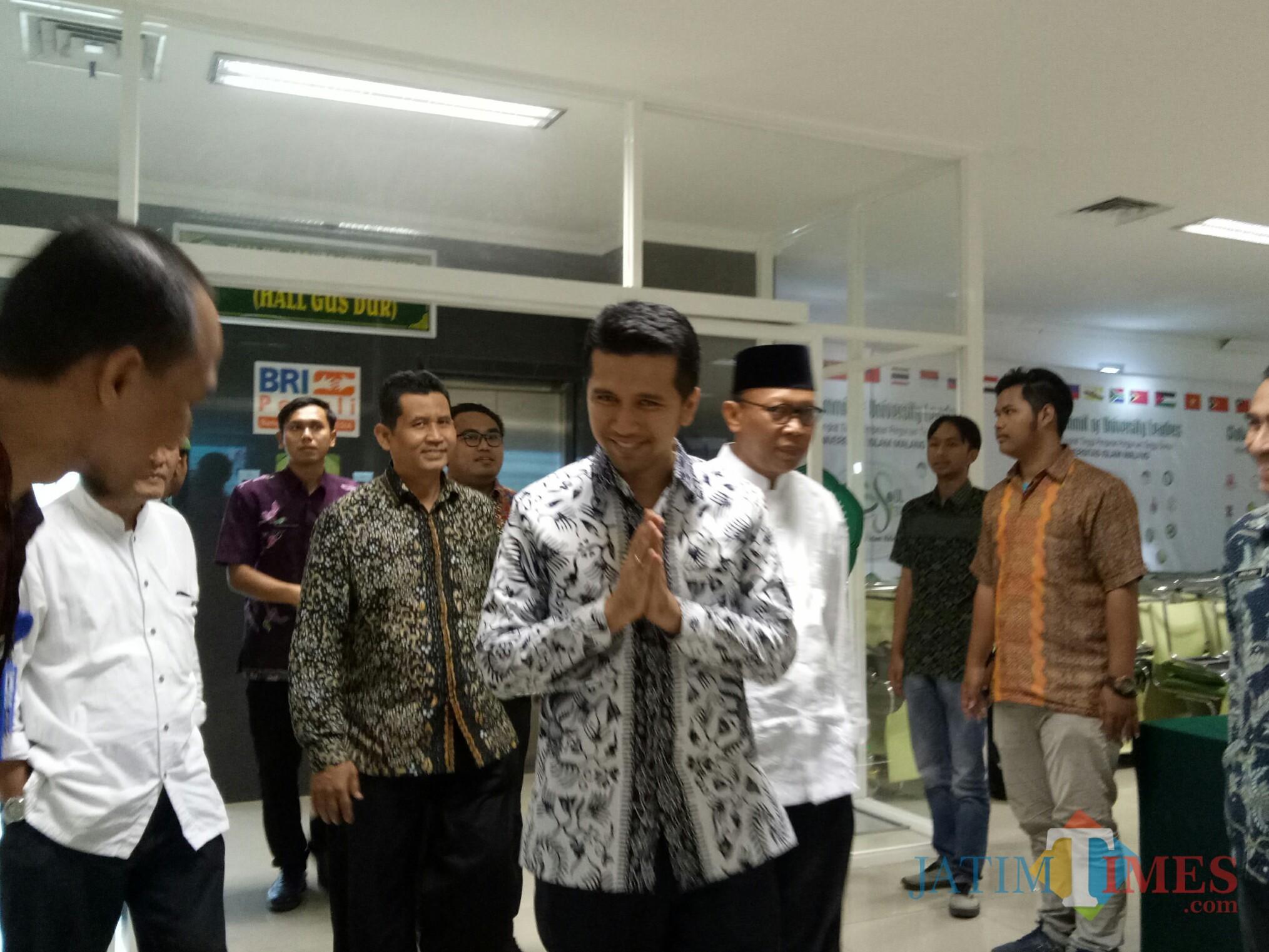 Wagub Jatim Emil Dardak (Foto: Imarotul Izzah/MalangTIMES)