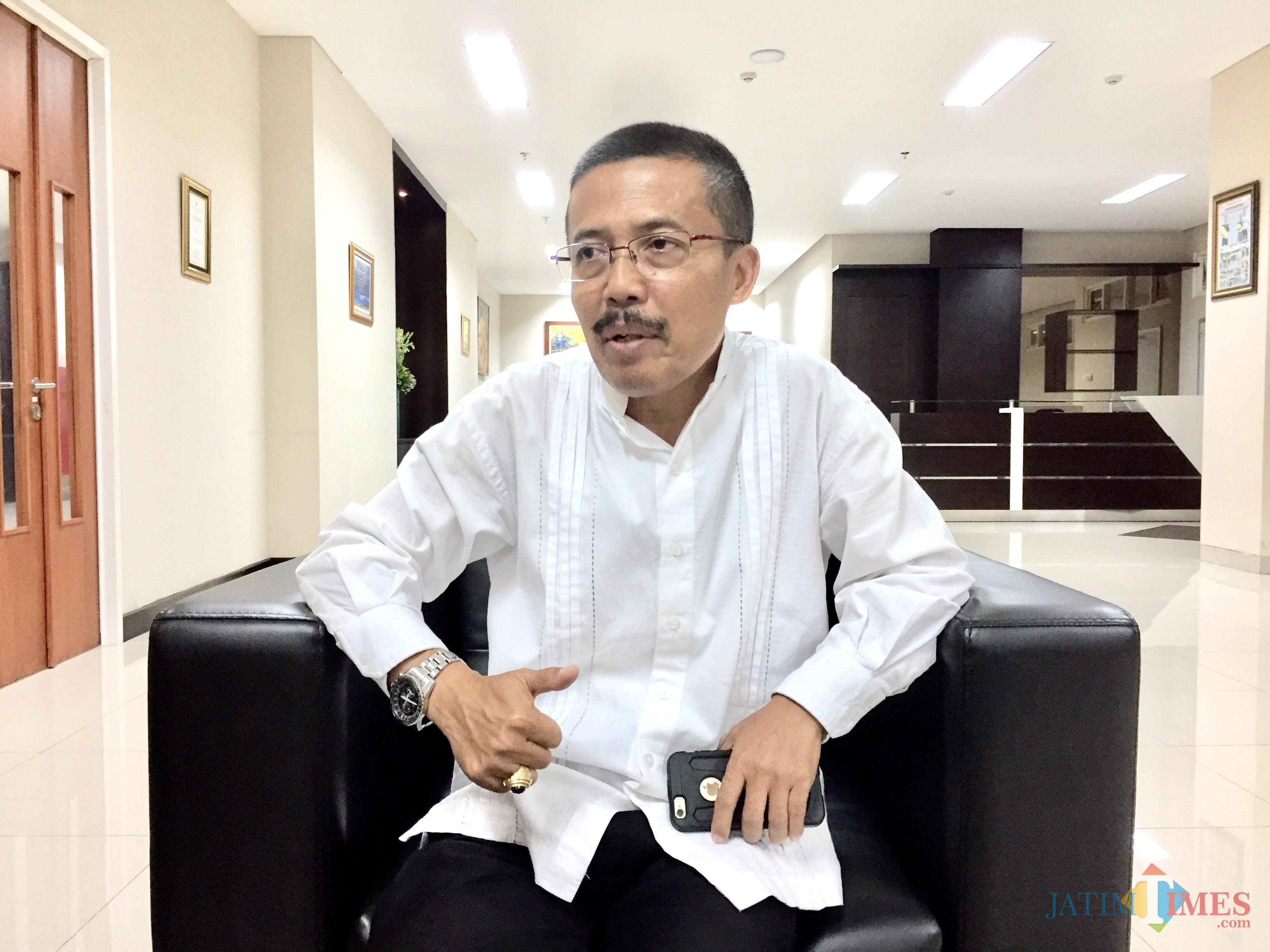 Wakil Wali Kota Batu, Punjul Santoso. (Foto: Irsya Richa/MalangTIMES)