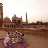 Tradisi piknik berbuka puasa di India (Foto: Istimewa)
