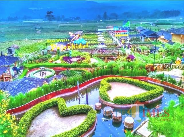 Desa wisata Pujon kidul yang akan jadi lokasi pertemuan AKKOPSI 2019 (dok MalangTIMES)