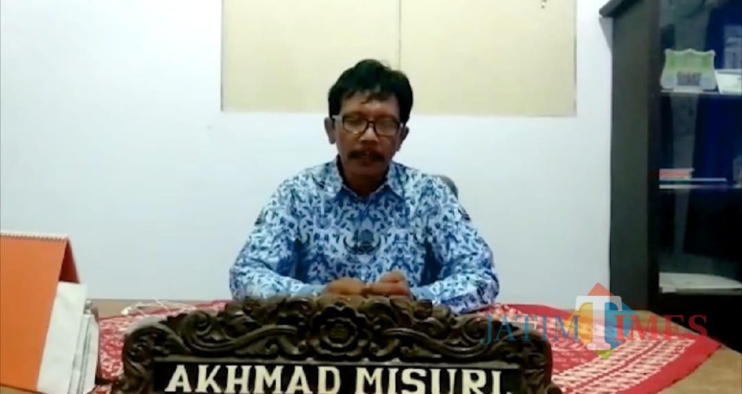 Ketua APDESI Situbondo Akhmad Misuri (Foto Heru Hartanto/Situbondo TIMES)