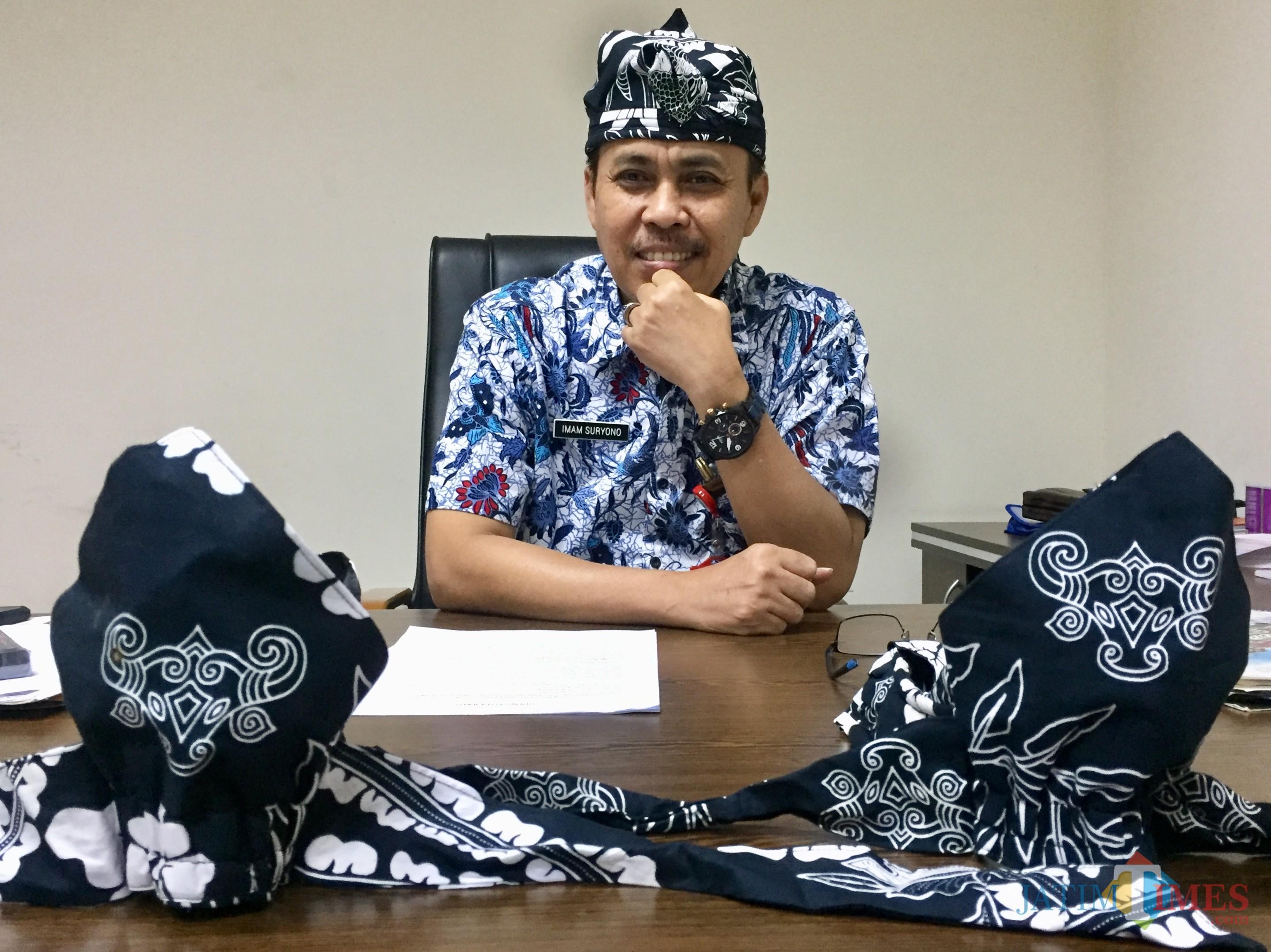 Pelaksana Tugas (plt) Kepala Dinas Pariwisata Kota Batu, Imam Suryono. (Foto: Irsya Richa/MalangTIMES)