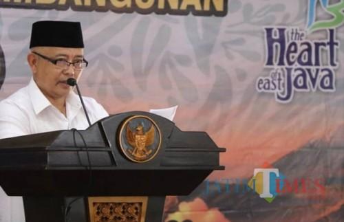 Wabup Malang Sanusi mengimbau masyarakat untuk tidak terprovokasi ajakan people power (dok MalangTIMES)
