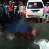 Kejadian kecelakaan yang terjadi di kawasan Jalan Raya Gadang. (Unit Laka)