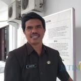Kepala DPMNaker-PTSP Pemkot Blitar Suharyono.(Foto : Team BlitarTIMES)