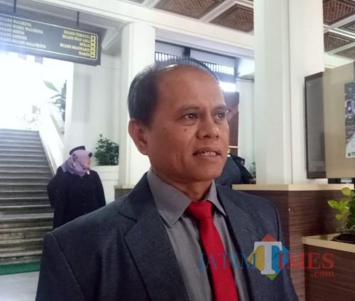 Kepala Dinas Perdagangan Kota Malang Wahyu Setianto. (Arifina Cahyanti Firdausi/MalangTIMES)