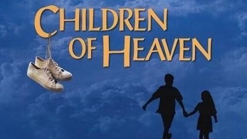 Salah satu poster film religi Children of Heaven.(Foto: Istimewa)