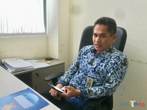 plt Kepala Satpol PP Kota Batu, Nur Adhiem. (Foto: Irsya Richa/MalangTIMES)