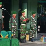 Dandim 0808/Blitar Letkol Inf Kris Bianto memimpin upacara Harkitnas