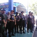 Kapolres Lumajang AKBP DR. Muhammad Arsal Sahban ketika memimpin Tim Cobra ke Terminal Wonorejo Lumajang (Foto : Moch. R. Abdul Fatah / Jatim TIMES)