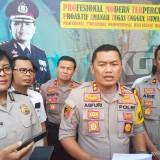 Kapolres Malang Kota AKBP Asfuri SIK, SH, MH  saat merilis pelaku mutilasi (Anggara Sudiongko/MalangTIMES)