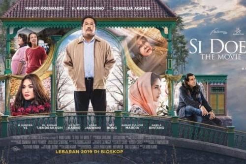Poster film Si Doel 2 yang bakal tayang di hari lebaran (Foto: Istimewa)