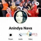 Facebook milik Ivon yang hingga kini belum pulang / Foto : Istimewa / Tulungagung TIMES