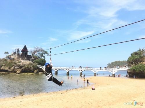 Pantai Balekambang, Kabupaten Malang. (Foto : Dokumen MalangTIMES)