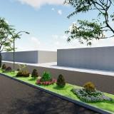 Kota Malang Semakin Asri, Disperkim Revitalisasi Taman Jalan Borobudur