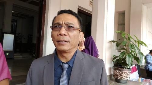 Plt Direktur Utama PD RPH Kota Malang, Ade Herawato (Pipit Anggraeni/ MalangTIMES).