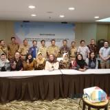 Wahyu Hidayat Kepala DPKPCK Kabupaten Malang (3 dari kiri) setelah rakor penyepakatan deliniasi wilayah RRTR Tumpang dan Poncokusumo (Wahyu for MalangTIMES)