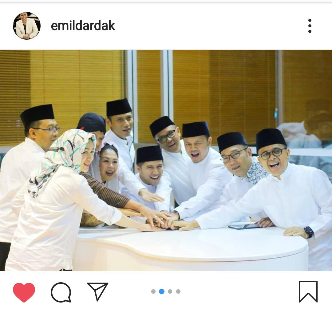 Tangkapan layar unggahan akun Instagram milik Wakil Gubernur Jawa Timur Emil Dardak. (Foto: Dokumen MalangTIMES)