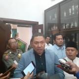 Legal NPR Oppo Indonesia Antonius Wangge saat menemui awak media di Balai Kota Malang. (Arifina Cahyanti Firdausi/MalangTIMES)
