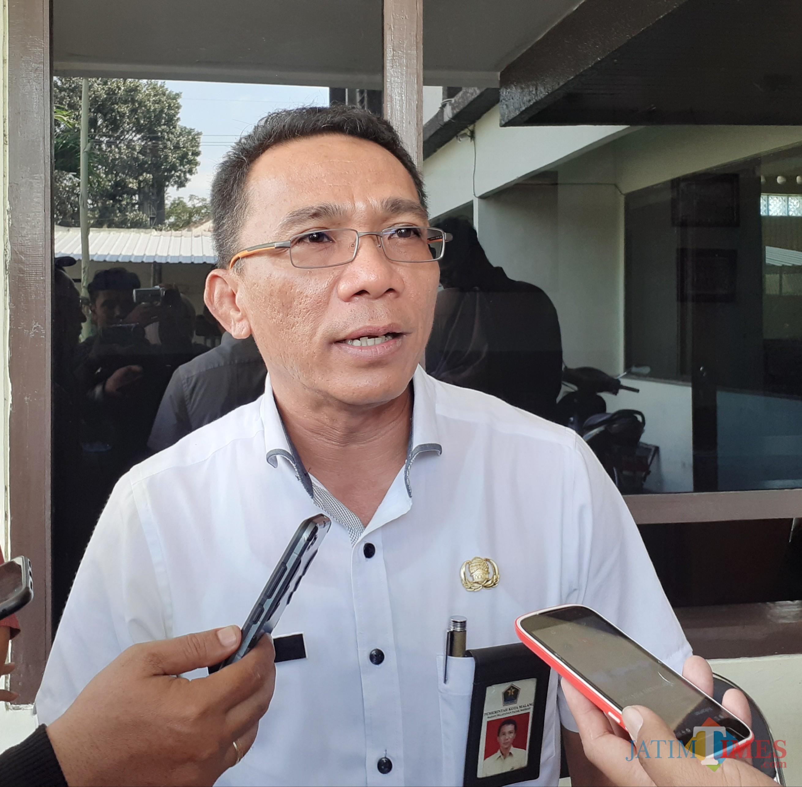Plt Direktur Utama PD RPH Kota Malang Ade Herawanto (Arifina Cahyanti Firdausi/MalangTIMES)