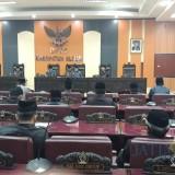 Rapat Paripurna DPRD Kabupaten Blitar membahas 4 Ranperda usulan eksekutif