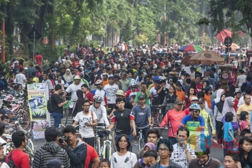 Car Free Day di Surabaya