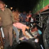 Koban sebelum dievakuasi ke RSUD dr Muhammad Saleh Kota Probolinggo. (Agus Salam/Jatim TIMES)