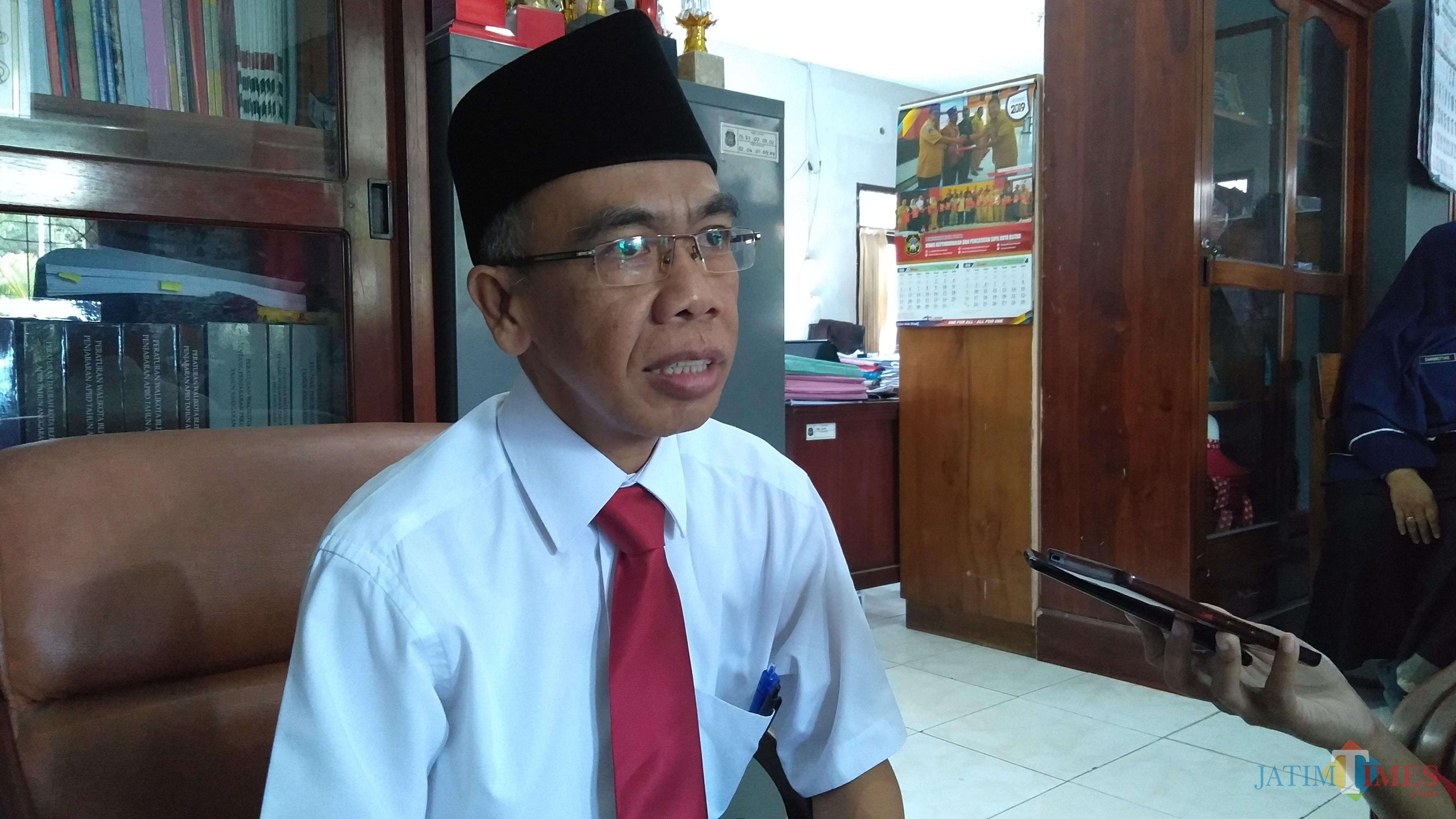 Kepala Dinkes Pemkot Blitar, M.Muchlis.(Foto : Team BlitarTIMES)
