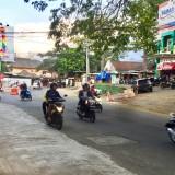 Jalan yang dalam proses pelebaran di�simpang empat Jalan Dewi Sartika, Kelurahan Temas, Kecamatan Batu. (Foto: Irsya Richa/MalangTIMES)