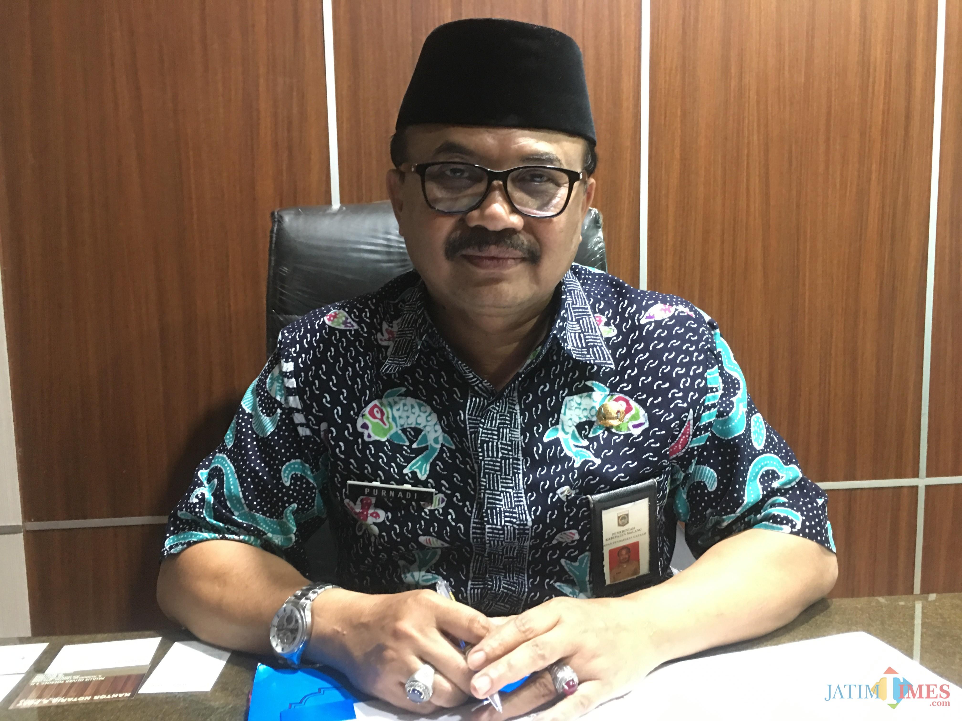 Kepala Bapenda Kabupaten Malang, Dr Purnadi (Foto : Dokumen MalangTIMES)