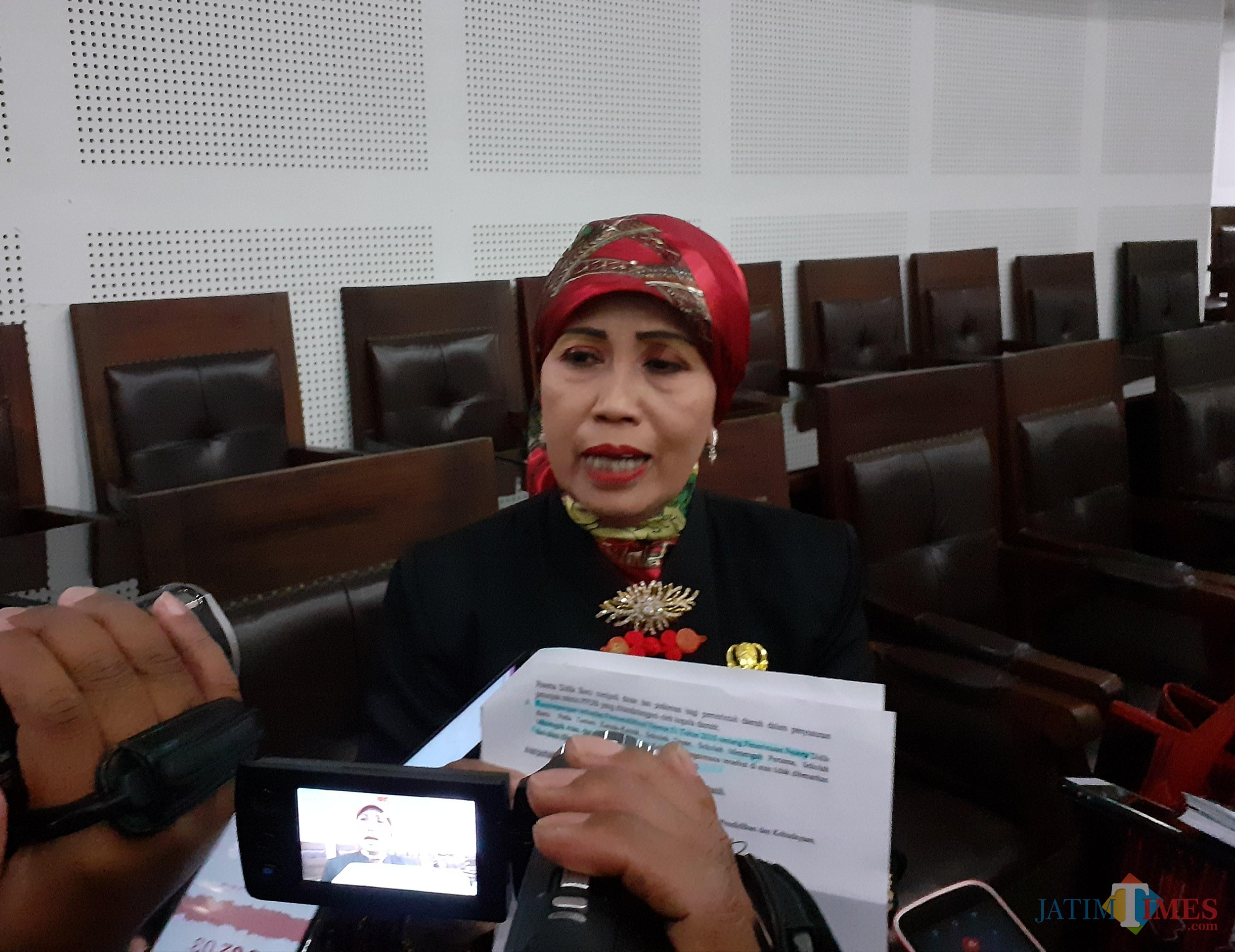 Kepala Dinas Pendidikan Kota Malang, Zubaedah (Arifina Cahyanti Firdausi/ MalangTIMES)