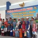 Pekan Islami Sasar Kecamatan Wagir, Komisaris Utama PT ACA Bagi-Bagi Hadiah