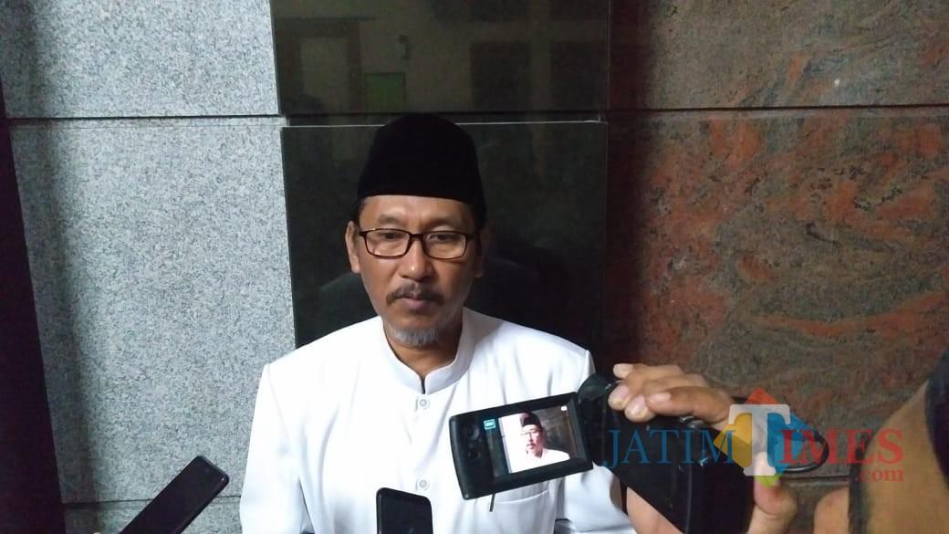 Ketua MUI Kota Blitar, KH Subakir.(Foto : Team BlitarTIMES)