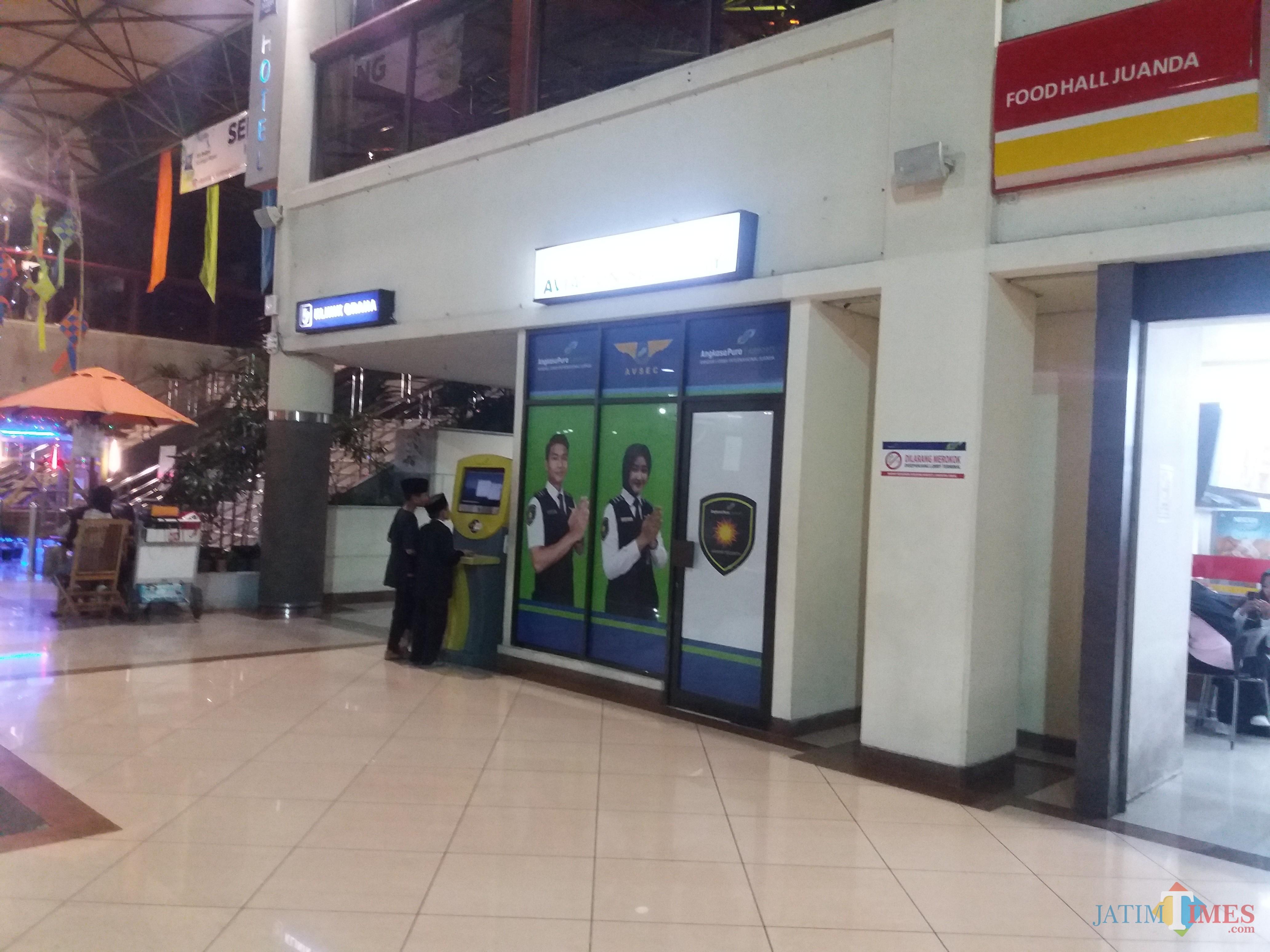 Posko Avsec di Bandara Juanda Surabaya