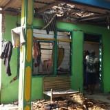 Rumah Rakiyem, nenek korban. mengalami kerusakan yang cukup parah. Foto (Istimewa)