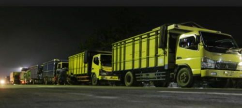 Ilustrasi kendaraan besar yang dilarang lewat Kota Malang (pojoksatu.id)
