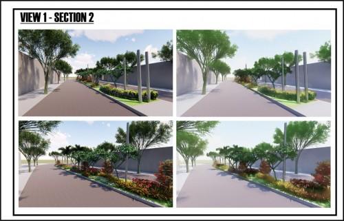 Ilustrasi revitalisasi wilayah Taman Jalan Borobudur Kota Malang (Foto: Istimewa)
