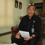 Ketua Pengadilan Agama Kota Probolinggo Edy Afan di kantornya (Agus Salam/Jatim TIMES)