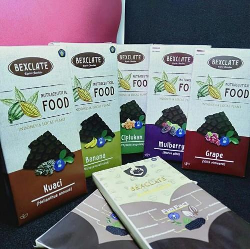 Produk BEXCLATE(Exotic Chocolate) buatan mahasiswa Fakultas Pertanian UB. (Foto istimewa)