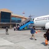 Suasana di Bandara Abd Saleh, Malang, Jawa Timur (MTVN/Aditya Mahatva Yodha)