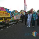 Mochamad Nur Arifin sampai di Trenggalek setelah dilantik Gubernur
