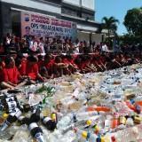Hasil Operasi Pekat Semeru 2019 Polrestabes Surabaya