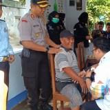 Pemeriksaan awak bus oleh Polres bersama BNN dan Dishub Kabupaten Kediri. Foto: (B. Setioko/JatimTIMES)