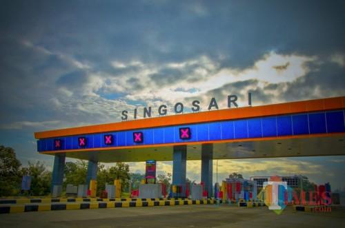 Gerbang tol Singosari di ruas Tol Malang-Pandaan. (Foto: binamarga.pu.go.id)