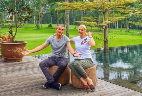 Milomir Seslija bersama Jelica Seslija (instagram @milojelica28)