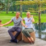 Tak Mudik, Milomir Seslija Habiskan Liburan di Pulau Dewata Bersama Istri