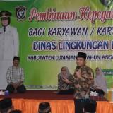 Bupati Lumajang H. Thoriqul Haq ketika memberikan pengarahan (Foto : Moch. R. Abdul Fatah / Jatim TIMES)