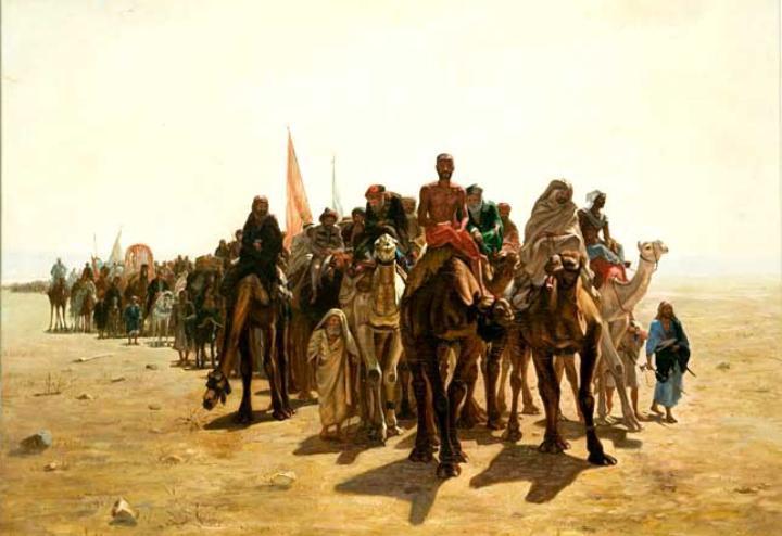 Ilustrasi Perang Tabuk, Arab Saudi Barat Laut (istimewa)